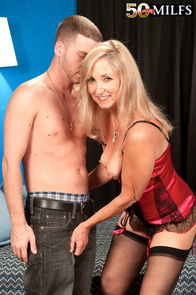 Connie McCoy Seduces Young Stud